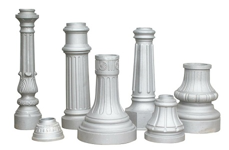 Gallery Decorative Cast Aluminum Post Finials Bases Mailboxes