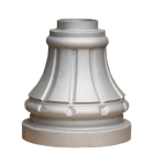 Cast Aluminum Decorative Street Base, fitting 3 inch round post