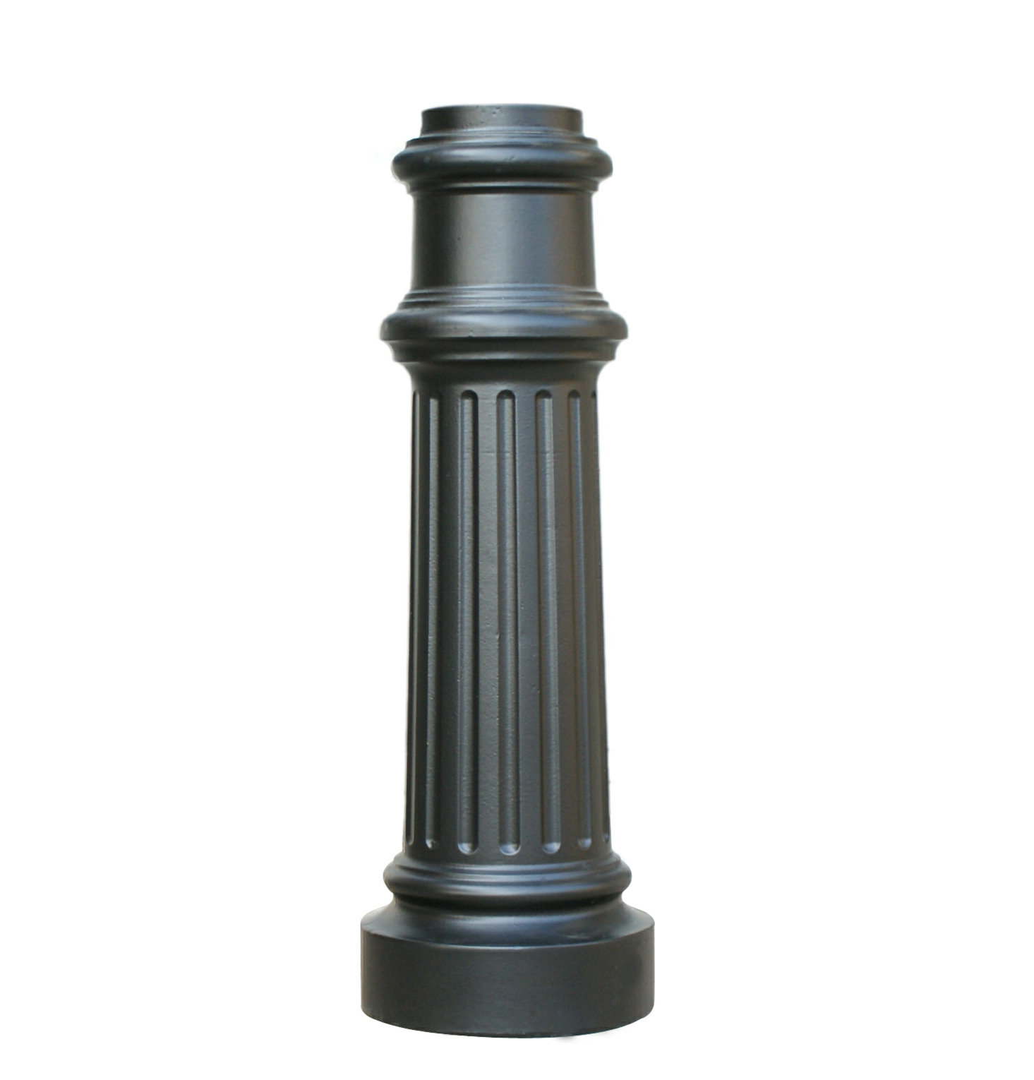 Quot decorative cast aluminum post base