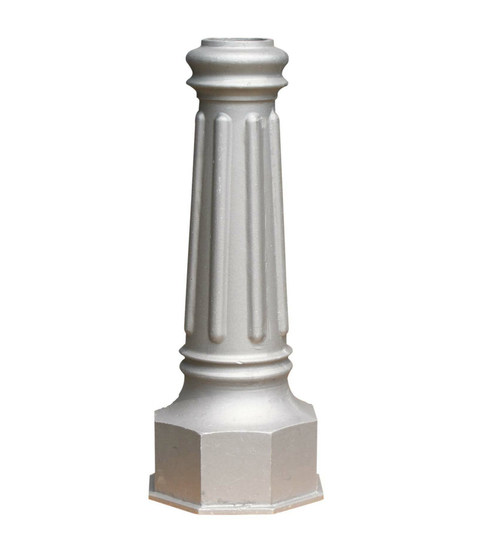 Decorative cast aluminum bases foundry direct