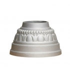 Decorative Post Cover in Cast Aluminum, fitting 3 inch round pole, wholesale price