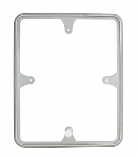 Rectangular Traffic Sign Frame Front