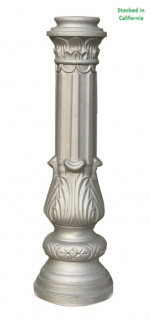 Decorative Cast Aluminum Unpainted decorative post base, wholesale price